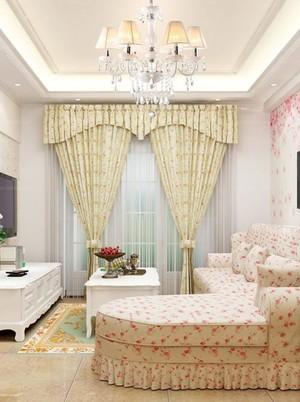 10款欧式小户型别墅客厅窗帘精选系列