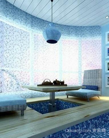 地中海别墅飘窗装修设计效果图