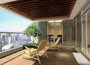 酒店阳台装修设计图欣赏