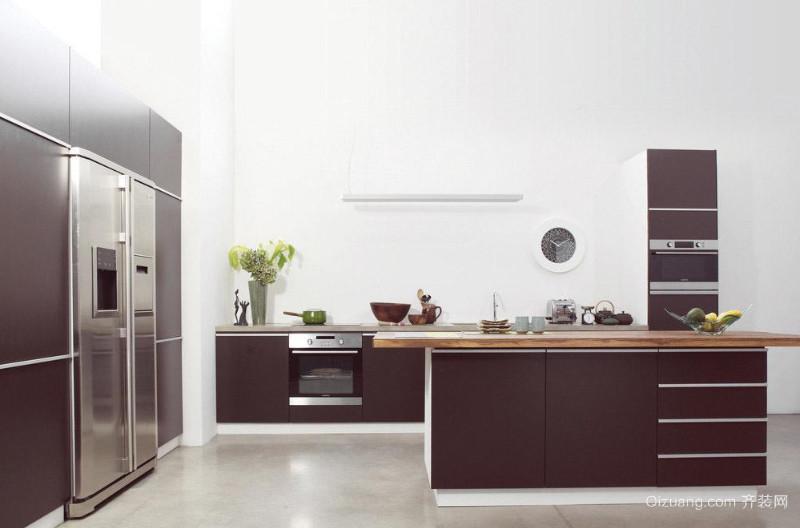 大户型厨房欧派整体橱柜装修效果图