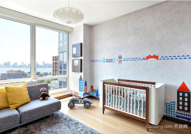 别墅儿童房间装修图片