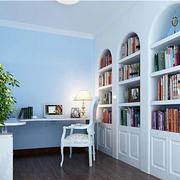 简欧式的书柜