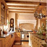 深色调厨房装修大全