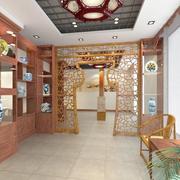 中式家装吊顶图片