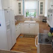 U字型家居小厨房