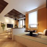 温馨色调地板砖效果图