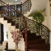 别墅精致型楼梯装修