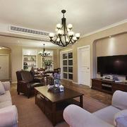 大户型人家客厅设计