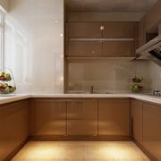U字型的家居厨房