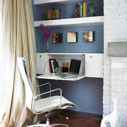 房间书架装修图片