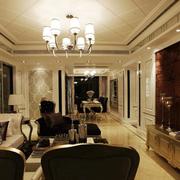 奢华精美客厅装潢