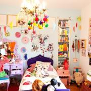 儿童房吊饰效果图