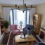 室内温馨舒适客厅