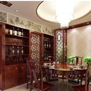 中式家装玄关图片
