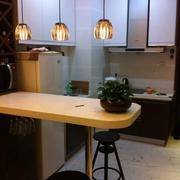 前卫都市厨房吧台