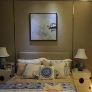 和谐咖啡色卧室