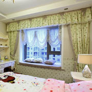 田园风格卧室飘窗