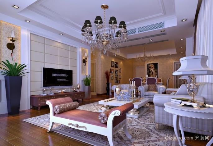 70平米欧式客厅装修效果图