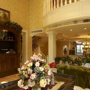 美式典雅客厅图片