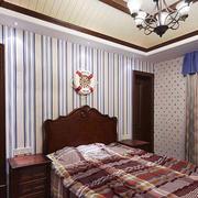 小户型美式卧室图