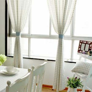 自然风格客厅窗帘图片