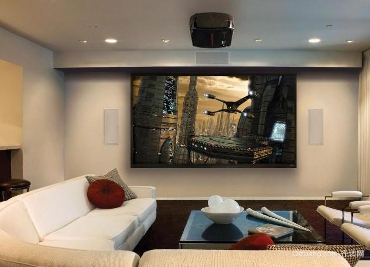 家庭客厅影院装修效果图