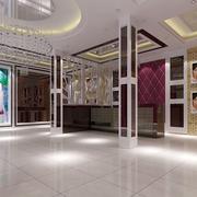 婚纱店地板砖效果图