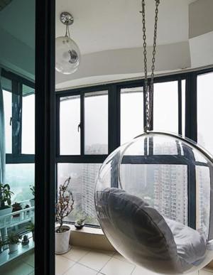 2015单身公寓阳台设计装修效果图
