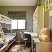 小户型儿童房组合书桌