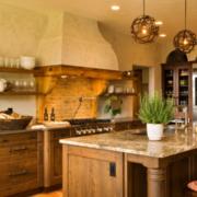 优雅精致厨房图片