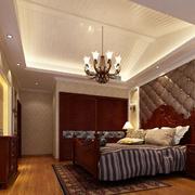 卧室时尚吊顶图片