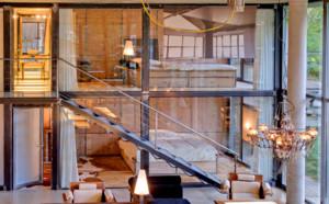 复式楼楼梯扶手装修效果图