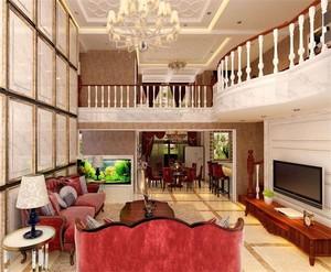 跃层式家居客厅欣赏
