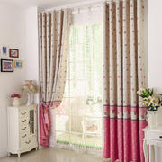 唯美型客厅窗帘图片