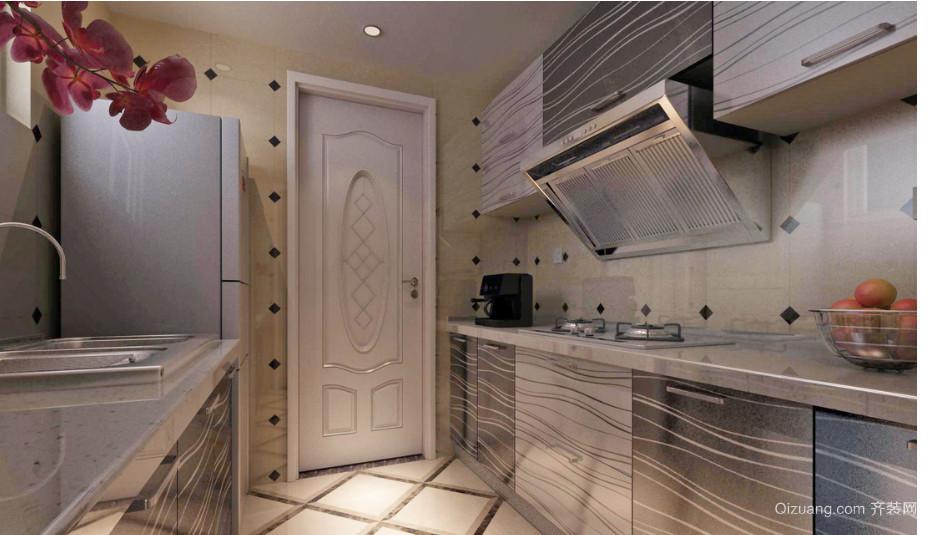 别墅厨房门设计装修效果图