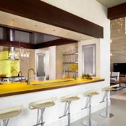 厨房大型吧台展示
