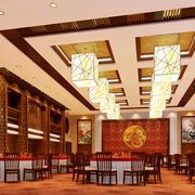 中式韵味酒店宴会厅