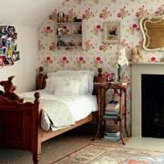 田园儿童卧室欣赏