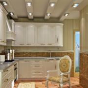 典雅温馨厨房展示