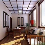 传统风格阳台设计图片