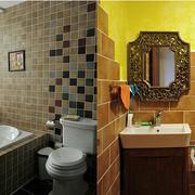 洗手间墙面瓷砖展示