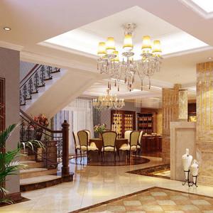 大户型美式家居楼梯
