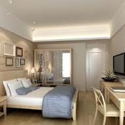 温馨素雅卧室装潢