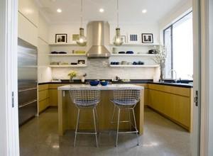 70平米欧式开放式厨房吊顶装修效果图