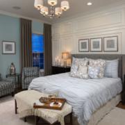 新款日式白色优雅卧室图例
