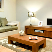 日式简约客厅沙发装饰