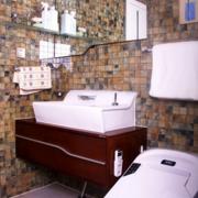 韩式风格清新卫生间瓷砖装饰