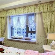 现代室内窗帘整体设计