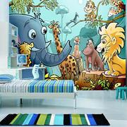清新大气儿童房壁纸装饰