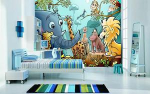 儿童房墙纸装修效果图